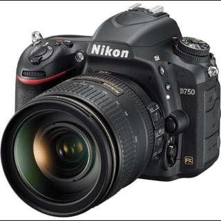 Nikon D750 24-120mm 4G VR KIT