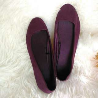 H&M Flat Shoes Purple