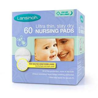 Lansinoh Disposable Nursing Pads - 60 Pack * 2