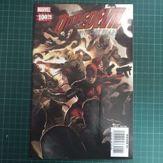 Marvel Comics Daredevil Vol 2 #100 Wrap Around Cover Modern Key VF+/NM-
