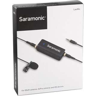 Saramonic LavMic Audio Mixer with Lavalier Microphone