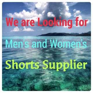 Shorts Supplier