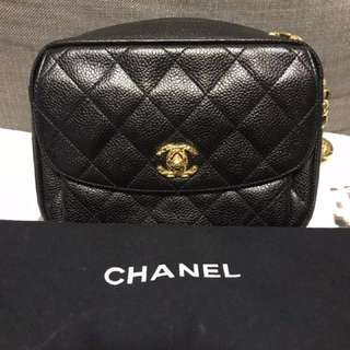 Vintage CHANEL turn-lock bag