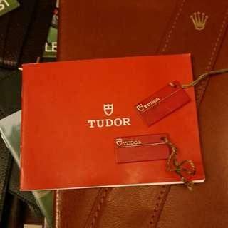 Tudor Booklet New Old Stock 2008 Rolex 刁陀