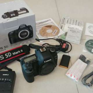 Canon 5D Mark II (body only)-updated