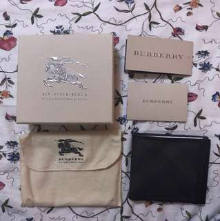 (Reduced) Burberry Mens wallet