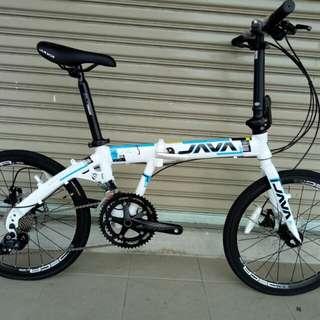 Java Pro 3 folding bike