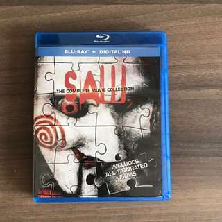 SAW Complete Movie Collection - Bluray