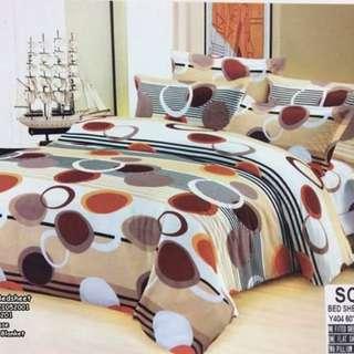 4in1 queen size 2 pillowcases 1 blanket 1 bedsheet US COTTON