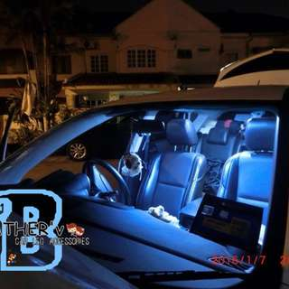 室内灯/后背箱CAR INTERIOR & TRUNK LED ROOM LAMP w Different Colour universal