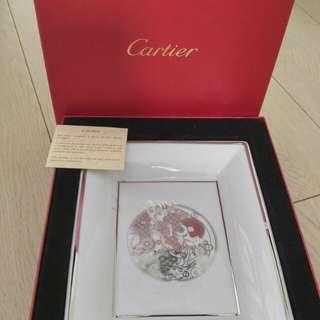 Cartier ceramic plate