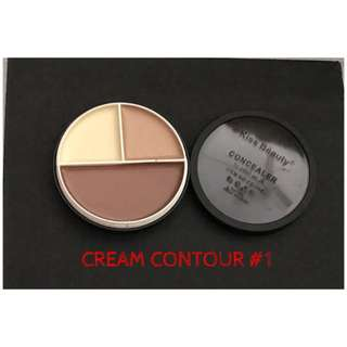 Kiss Beauty 3in1 Cream Contour