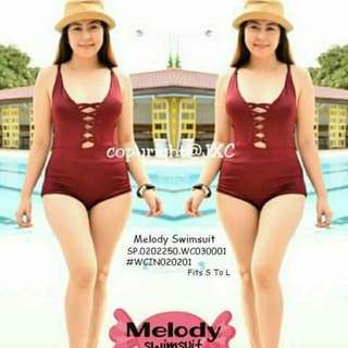Melody swimsuit fits S-L