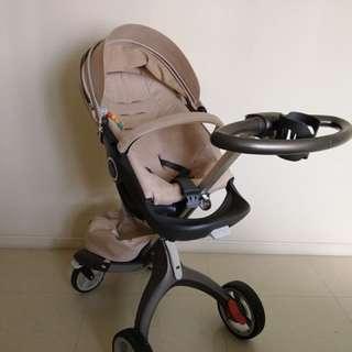 Stokke Xplory V3 Stroller (Beige)