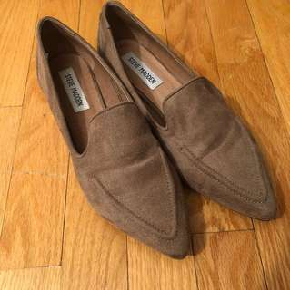 Steve Madden suede flats- size 38