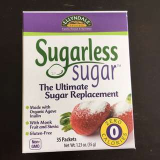 Low GI Sugarless Sugar 35 pks (free delivery)