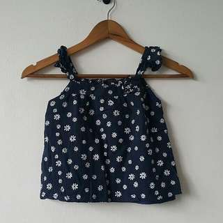 Dark Blue Top - Kids