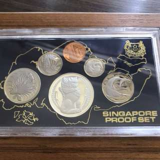 Singapore 1983 Proof Coin Set