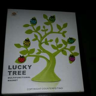 Lucky Tree Ladybird Magnets