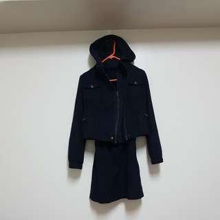 🚚 專櫃品牌IROO三件式毛料套裝