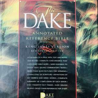 Dake Annonated Reference Bible