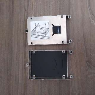 HP laptop HDD bracket caddy