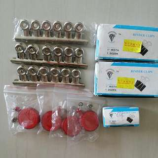 Biner Clips & Card Holder Clips