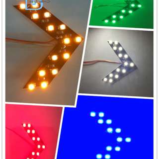 LED Arrow Signal Light Side Mirror 汽車後視鏡轉向燈 Night Vision