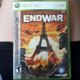 Xbox 360 game (End War)