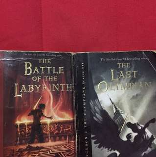 Percy Jackson BOOKS (take all)