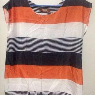 Mags orange black stripes