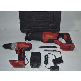 Cordless Drill / Reciprocating Saw