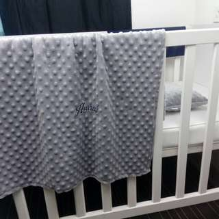 Stroller Blanket with Baby Pillow
