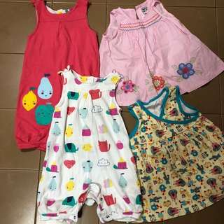 Girl clothes dresses onesies