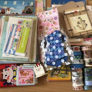 Huge Stationery Lot FREE METRO MANILA SHIPPING