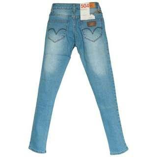 FREE ONGKIR JABODETABEK & BANDUNG // LEVIS Skinny Jeans Semi Ori Biru Muda