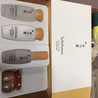 Sulwhasoo brand new colour basic kit trial (4pcs)