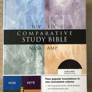 Comparative Study Bible (NIV, KJV, NASB, AMP)