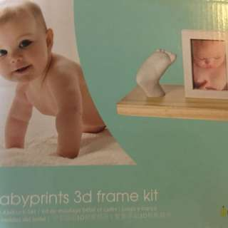 3D kit for baby prints- hand/foot