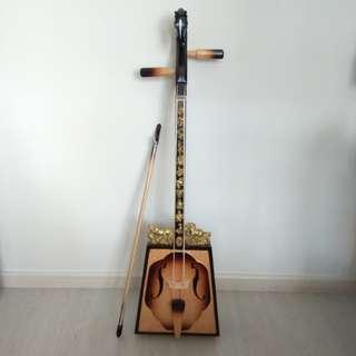 Mongolian Horsehead Fiddle (Morin Khuur 马头琴)