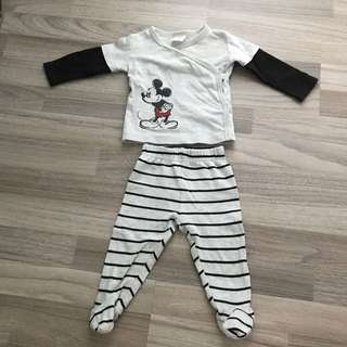 Disney Mickey Mouse Set 3-6M