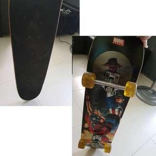 Marvel authentic skateboard