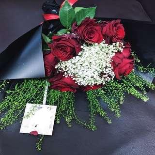 Rose Bouquet (9 roses)
