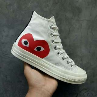 CONVERSE CDG PLAY HIGH OFFWHITE