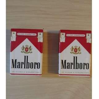 Marlboro 萬寶路煙包形打火機 $60/兩隻齊放 04/02