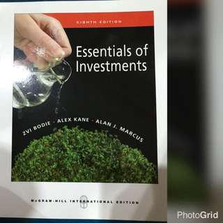 Essential of Investments