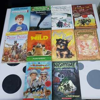 10 assorted children's story books