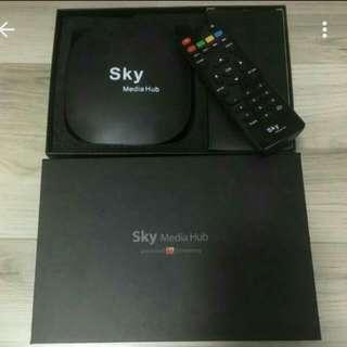 Sky Media Hub 4K android tv box