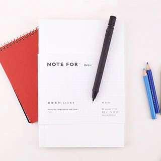 [PO] basic white notebook