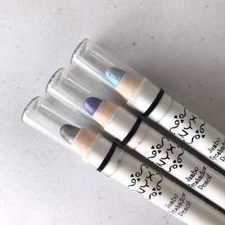 NYX Jumbo Eyeshadow Pencils Trio